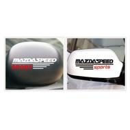Mazda Rearview Mirror Stickers Horses 3 Horses 6 Horses 5 Cx - 3 Cx - 5 Cx