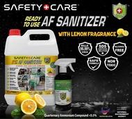 🔥🔥(Fast delivery!!!!!)🔥🔥af sanitizer Safety Care Anti-Bacterial Disinfectant 5L cleanser sanitizer 消毒液 消毒水