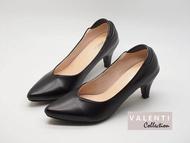 Valenti Collection รองเท้าส้นสูงแฟชั่นผู้หญิง รองเท้าคัชชู หนังนิ่ม รุ่น FT-746 Black (สีดำ)