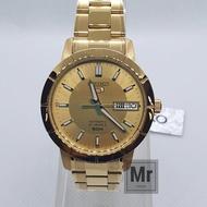 นาฬิกาข้อมือชาย Seiko 5 Automatic SNK888K1 เรือนทอง
