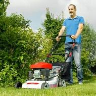 割草機 出口品質充電式手推草坪機草坪修剪機小型家用多功能鋰電割草機T