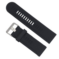 Silicone Watch Band Strap Kit for Garmin D2 Fenix Fenix2 Fenix3 Fenix3 HR Quatix Band, Black