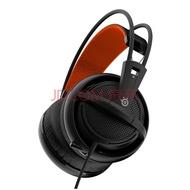 赛睿(SteelSeries) 西伯利亚Siberia 200专业电竞头戴式游戏耳机耳麦IG吃鸡耳机 200耳机黑色