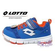 LOTTO樂得-義大利第一品牌 童款SPACERUN 太空漫步輕量跑鞋 [8036] 藍【巷子屋】