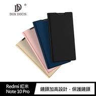 【愛瘋潮】99免運  手機殼  DUX DUCIS Redmi 紅米 Note 10 Pro 5G SKIN Pro 皮套 掀蓋 可插卡 可立支架設計