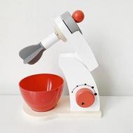 เด็กไม้ทำเป็นชุดของเล่นจำลองเครื่องปิ้งขนมปังเครื่องทำขนมปังกาแฟเครื่องปั่นเบเกอรี่ชุดเกม Mixer ครัวของเล่นภาระกิจ