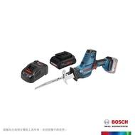 【BOSCH 博世】18V超核芯鋰電軍刀鋸GSA 18 V-LI C 4.0Ah套裝