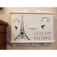 更美歐洲傢飾精品 Amazing House歐式遮電箱 電表箱 遮擋配電箱 裝飾牆面 居家開店 佈置 免組裝(特大)