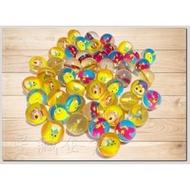 ❃限時優惠❃[星誠企業]全新3.2公分透明圖案彈力球《整套50顆》(3.2公分彈力球/好玩不膩的玩具/彈跳球/夜市撈球/透明彈力球)