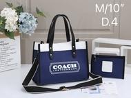 กระเป๋าถือ COACH ผ้าแคนวาส สะพายได้ ถือได้ พร้อมส่ง ราคาตรงปกแน่นอน249