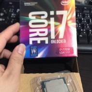 保內I7 7700K    I7 7700 I7 6700K Z170 Z270 CPU I7 7700K