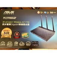 (近全新.保固中)ASUS 華碩 RT-AC66U+ B1 WiFi 路由器 分享器AC68U AC86U N18U
