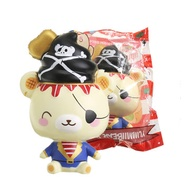 Yummiibear Creamiicandy Pirate Squishy Slow Rising Toy With Original Packing Gift Collection