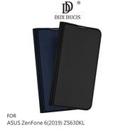 【愛瘋潮】99免運 DUX DUCIS ASUS ZenFone 6(2019) ZS630KL SKIN Pro 皮套 可插卡 支架 鏡頭保護