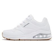 Skechers 休閒鞋 Uno 2 白 全白 女鞋 氣墊 增高 運動鞋 【ACS】 155543WHT