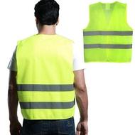 วิ่งกลางแจ้งเสื้อผ้าความปลอดภัยการแข่งขันวิ่งเสื้อกั๊กสะท้อนแสงมองเห็นง่ายเรืองแสง