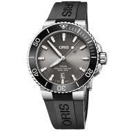 【ORIS 豪利時】水鬼 Aquis 時間之海潛水300米日期機械錶-43.5mm(0173377307153-0742464TEB)