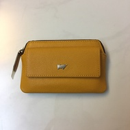 Mustard Braun Buffel Coin/Key Holder