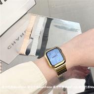 Original ใช้กับ Apple Applewatch Band Iwatch6-SE-5-4-3รุ่นโซ่สแตนเลสสตีลโลหะผู้ชายและผู้หญิง