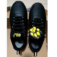 全新 Jack wolfskin 牛皮 黑色 勤務鞋