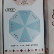 7-11 卡娜赫拉 雨傘 藍色款 抗UV