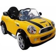 Mini Cooper S 電動車~~兒童(遙控)電動車寶馬授權~黃色