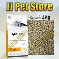 [REPACK] Molly Cat Food Adult Chicken & Anchovy - Hairball Control - 1KG