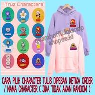 Kpop Treasure Truz Character Hoodie Jacket (can Request) / M-xxl | JAKET HOODIE KPop TREASURE TRUZ CHARACTER ( bisa request ) / M-XXL