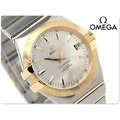 美國代購-OMEGA 歐米茄 手錶 CONSTELLATION 星座 35mm 機械錶 18