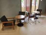 【鐵木創】橡膠木  實木桌  50圓  圓桌  營業用 厚實松木 訂製 客製 餐桌  桌椅 餐桌椅組