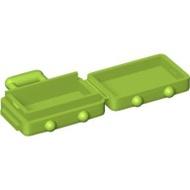 【LEGO 大補帖】萊姆綠色 登機箱/行李箱【6226630/37178/60197】MU-11