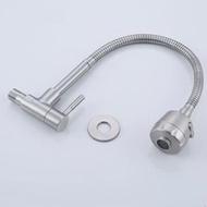SUS304 Kitchen Wall Faucet Single Cold 304 Kitchen Faucet Brand New And High Quality 2020 New Arrival For Home