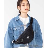 【藍樹林】KANGOL Logo Emb Body Bag 袋鼠 刺繡 腰包 側背包