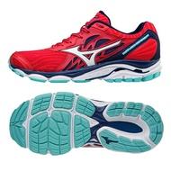 MIZUNO WAVE INSPIRE 14 女鞋 慢跑 健走 緩震 輕量 紅 【運動世界】 J1GD184408
