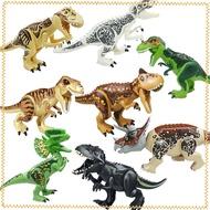 For Legoings Figures Tyrannosaurus Rex 60-47 Assemble Jurassic World 2 Kids Toys Jurassic Park Dinosaur Compatible Building Blocks Movies Model Legoing