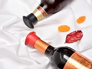 6 Pack Wine Stoppers, Food Grade Silicone Reusable Leak-Proof Wine Saver Cap