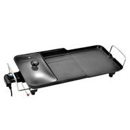 【KINYO 】多功能 電烤盤 分離式 BP-30 無煙烤盤 家用110V 不黏鍋烤盤 大號電烤爐