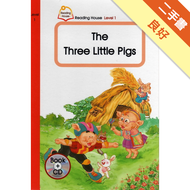 【THE THREE LITTLE PIGS-READING HOUSE 1 B+CD】 [二手書_良好] 2152