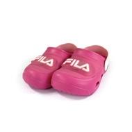 FILA 兒童電燈園丁涼鞋/拖鞋S855U-555桃粉(15~20cm)