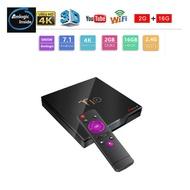 新品—T10機上盒 S905W 安卓7.1 4K播放機 帶數顯 2+16GB 家人 小孩 看電視 高品質