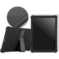 VXTRA 聯想 Lenovo Tab M10/P10 10.1吋 全包覆矽膠防摔支架軟套 保護套(黑)