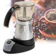 โปรโมชั่น เครื่องทำกาแฟ ไฟฟ้า Mokapot 6คัพ ใช้ ไฟฟ้า ***สินค้าพร้อมส่ง*** ราคาถูก เครื่องชงกาแฟ เครื่องชงกาแฟสด เครื่องชงกาแฟอัตโนมัติ เครื่องชงกาแฟพกพา