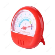 Fridge Thermometer Pointer Dial Refrigerator Freezer Temperature Meter (Red