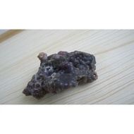 嵐水晶 原礦系列-【葡萄紫玉髓】---85.3g