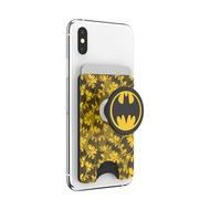 PopSockets 泡泡騷 手機架 蝙蝠俠經典圖騰 BAT SIGNAL PATTERN  <泡泡騷卡夾 Plus>