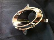 ※寶捷國際※ 2011 MITSUBISHI OUTLANDER 原廠式樣 霧燈框-電鍍 LH MN206261 ㊣