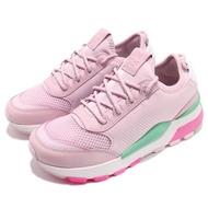 【PUMA】慢跑鞋 RS-0 Play 運動 女鞋 低筒 老爹鞋 球鞋 穿搭 襪套 粉紫 綠(36751504)