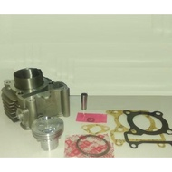 【阿鎧汽缸】RS RSZ CUXI100改55MM鍛造活塞套管汽缸組(明輝商品)