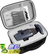 [9美國直購] 麥克風盒 Microphone Case for Blue Yeti Nano Premium USB Mic, Carrying Storage Holder Fits