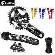 SWTXO crankset 170mm 32T\34T\36T38T 104BCD mtb mountain bike Aluminum alloy  Hollowtech